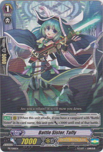 Battle Sister, Taffy - PR/0181EN - PR
