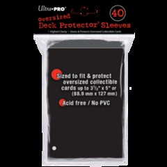 Ultra Pro Oversized Deck Protectors (40ct)