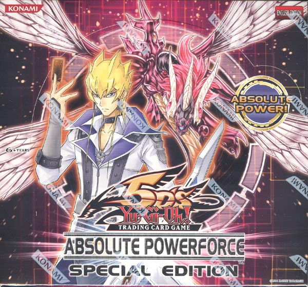 Yu-Gi-Oh Absolute Powerforce Special Edition Display Box