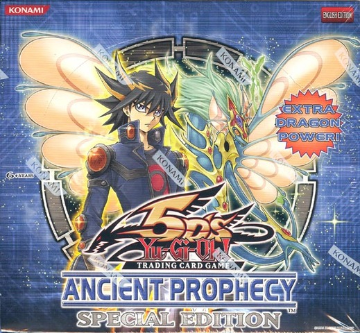 Yu-Gi-Oh Ancient Prophecy Special Edition Display Box