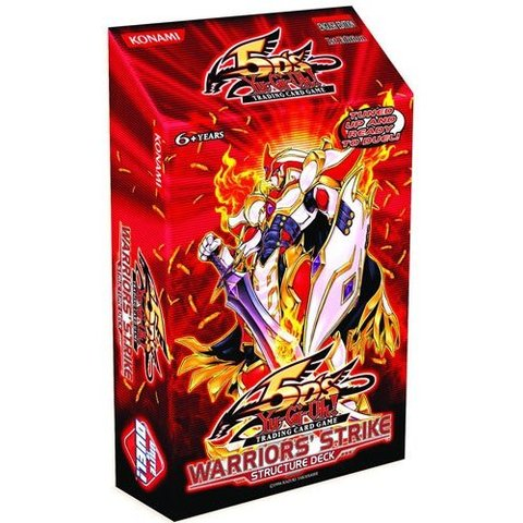 Yu-Gi-Oh Structure Deck: Warriors Strike - 1st Edition