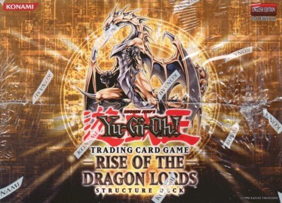 Yu-Gi-Oh Structure Deck: Rise of the Dragon Lords Display Box 8ct - 1st Edition