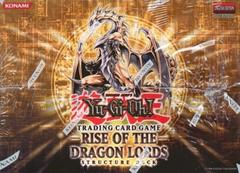 Rise of the Dragon Lords Structure Deck 1st Edition Box