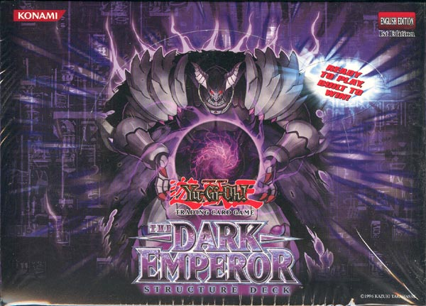 Yu-Gi-Oh Structure Deck: The Dark Emperor Display Box 8ct - 1st Edition