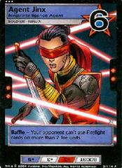 Agent Jinx, Ninja/Intelligence Agent