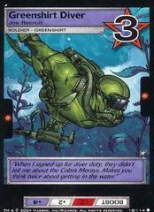 Greenshirt Diver, Joe Recruit