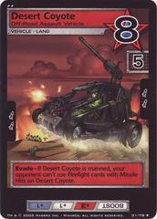 Desert Coyote, Off-Road Assault Vehicle