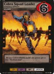 Cobra Squad Leader, Infantry Officer