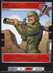 Zap, Bazooka Soldier