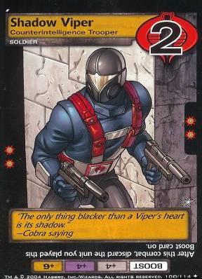 Shadow Viper, Counterintelligence Trooper