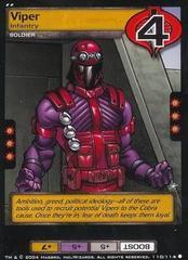 Viper, Infantry