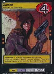 Zartan, Master of Disguise