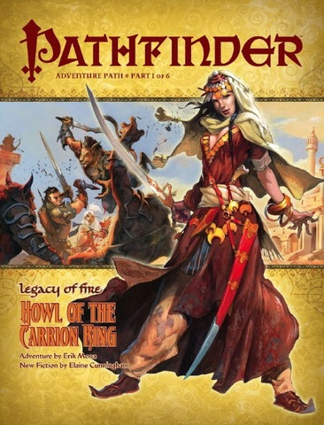 Pathfinder Adventure Path #19: Howl of the Carrion King (Legacy of Fire 1 of 6)
