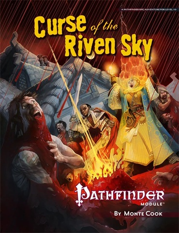 Pathfinder Module: Curse of the Riven Sky - Role-Playing