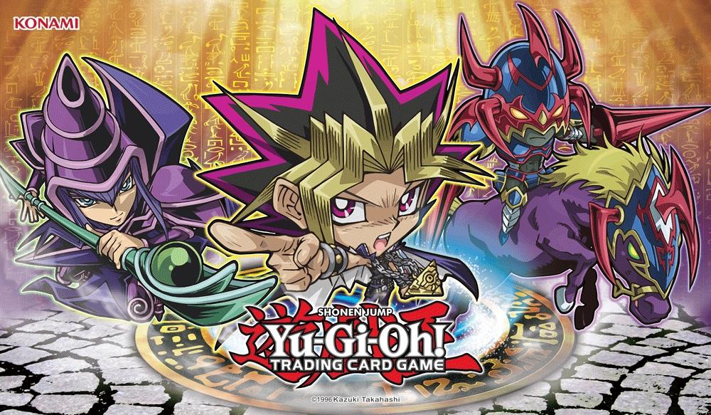 yu gi oh duelist kingdom chibi game mat yugi accessories