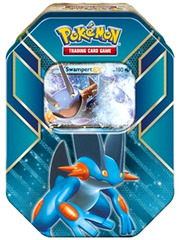 Pokemon Hoenn Power Tin - Swampert EX