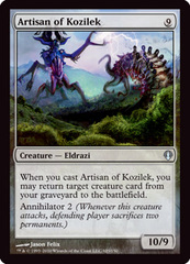 Artisan of Kozilek on Channel Fireball