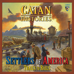Catan Histories: Settlers of America Trails to Rails (In-Store Purchase Only)