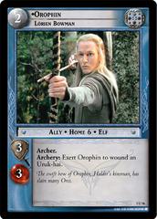Orophin, Lorien Bowman
