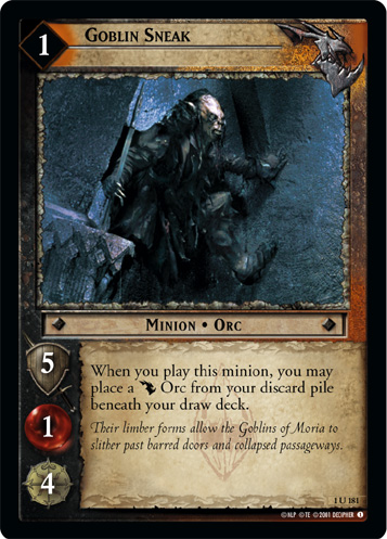 LoTR TCG FoTR Fellowship Of The Ring Parry FOIL 1R132