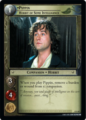 Pippin, Hobbit of Some Intelligence