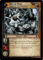 Host of Moria, Legion of the Underdeeps - 9R+41 - Foil