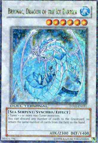 Brionac, Dragon of the Ice Barrier - DT01-EN031 - Ultra Parallel Rare - Duel Terminal