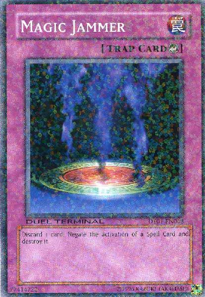 Magic Jammer - DT01-EN048 - Parallel Rare - Duel Terminal
