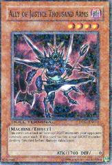 Ally of Justice Thousand Arms - DT01-EN078 - Parallel Rare - Duel Terminal