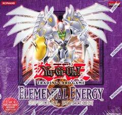 Yu-Gi-Oh Elemental Energy Special Edition Display Box