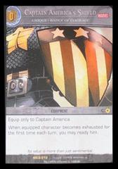 Captain America's Shield, Unique  Badge of Courage