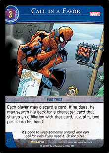 Call in a Favor - VS System Singles » Marvel Coming of Galactus