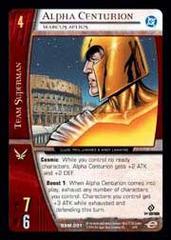Alpha Centurion, Marcus Aelius