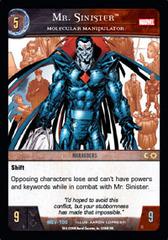 Mr. Sinister, Molecular Manipulation