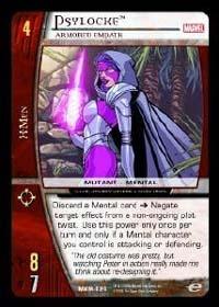 Psylocke, Armored Empath - VS System Singles » X-Men - Spell