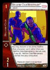 Hellfire Club Mercenary, Army