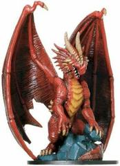 Huge Red Dragon Giants of Legend