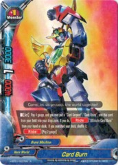 Card Burn  - H-BT01/0037EN - R