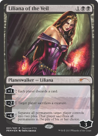 Liliana of the Veil - PTQ Promo