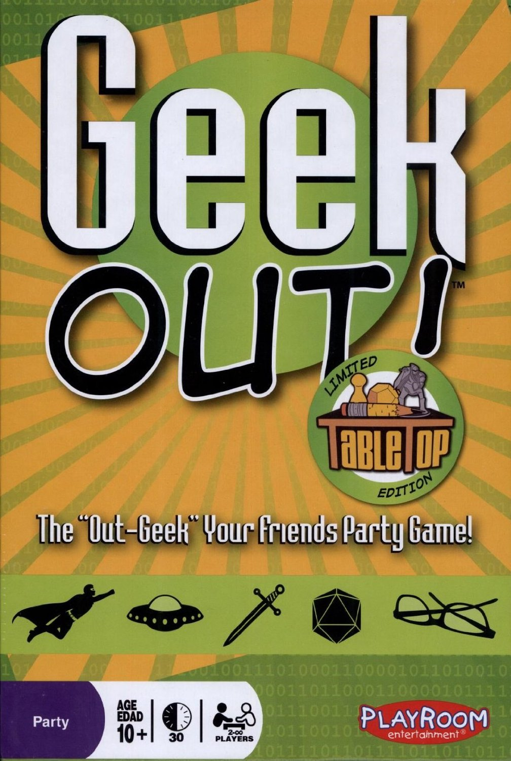 Geek Out! Limited Tabletop Edition