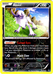Absol - 40/108 - Holo Rare - Reverse Holo on Channel Fireball