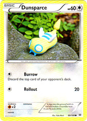 Dunsparce - 68/108 - Common on Channel Fireball