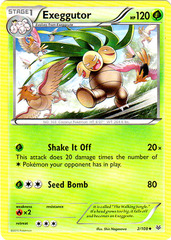 Exeggutor - 2/108 - Uncommon on Channel Fireball