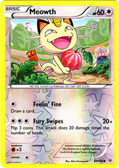 Meowth - 67/108 - Common - Reverse Holo