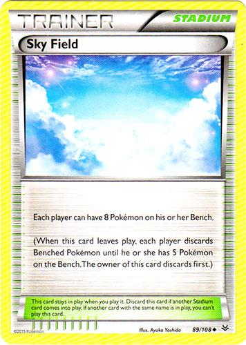 Sky Field - 89/108 - Uncommon