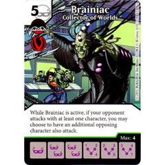 Brainiac - Collector of Worlds (Die & Card Combo Combo)