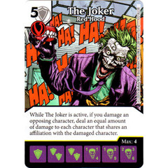 The Joker - Red Hood (Die & Card Combo Combo)