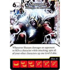 Shazam! - Strength of Hercules (Card Only)