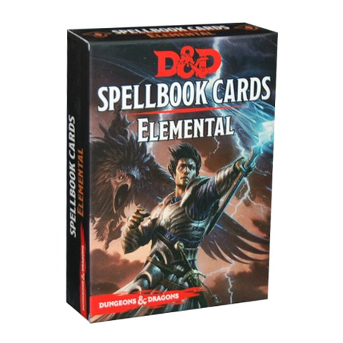 Dungeons and Dragons 5th Edition RPG: Spellbook Cards - Elemental