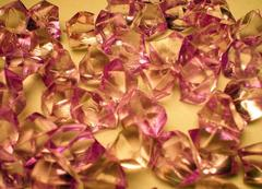 Gaming Crystals: Crystalline Counters (50) [Purple]